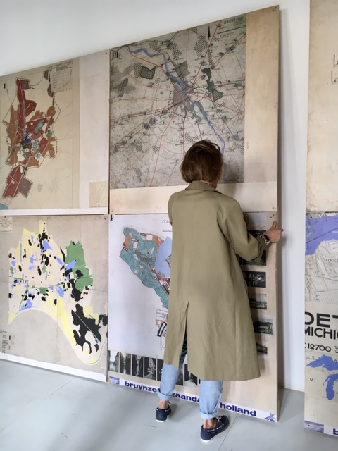 Diane Turquety au travail