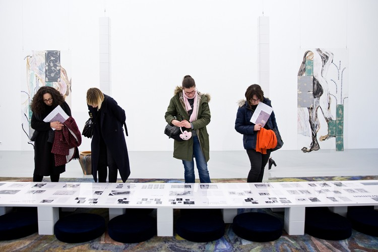 Jade Fourès Varnier und Vincent de Hoÿm, In Jeopardy, Temple of Jacent II, Pietà, 2018, Ausstellungsansicht, Production 49 Nord 6 Est - Frac Lorraine, Courtesy die Künstler, Foto: B. Mathia