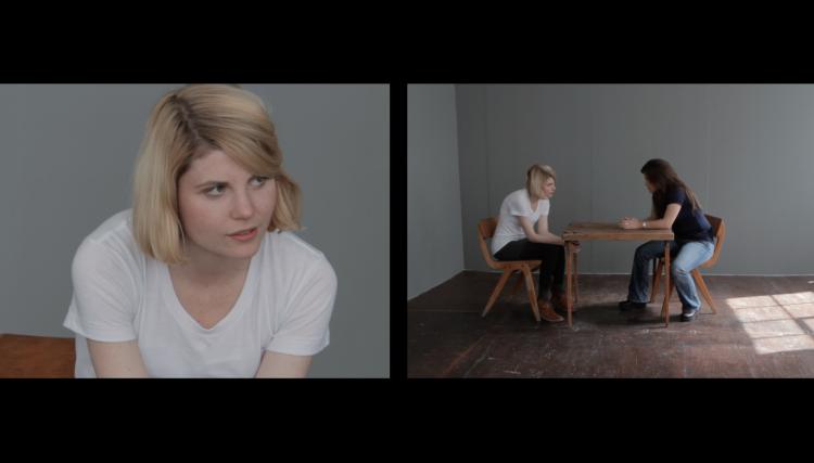 Anja Kirschner et David Panos, Living Truthfully Under Imaginary Circumstances, 2011, installation vidéo, courtesy les artistes et Hollybush Gardens