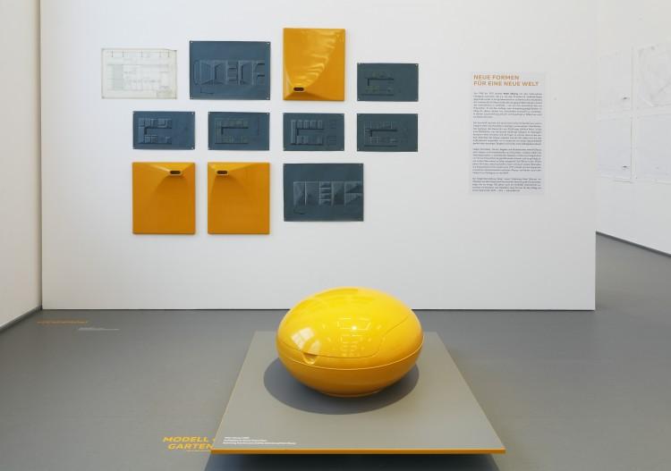 Von der Idee zur Form. Domeau & Pérès: Dialoge zwischen Design und Handwerk, vues d'exposition, Kaiser Wilhelm Museum Krefeld, photos : Volker Döhne