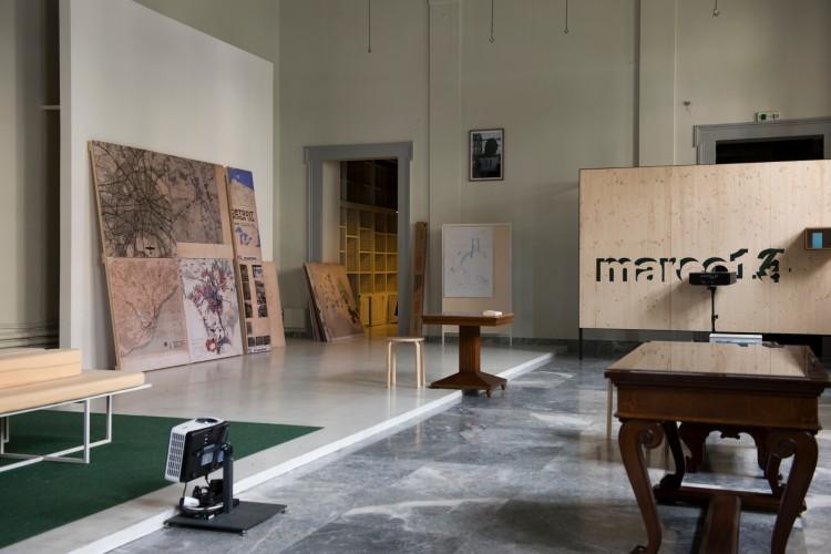 Rainer Oldendorf, marco14 und CIAM4 / Schiffbruch mit Zuschauer, Installationsansicht, Polytechnion, documenta 14, Athen 2017, Foto: Angelos Giotopoulos