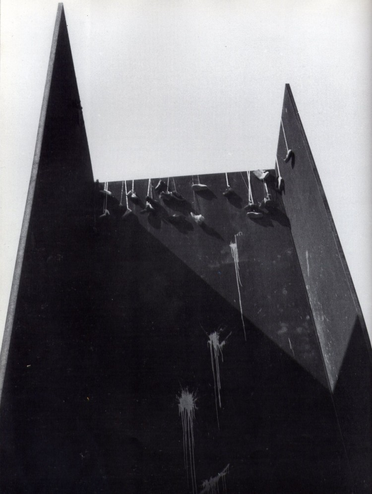 David Hammons, Shoe Tree, 1981